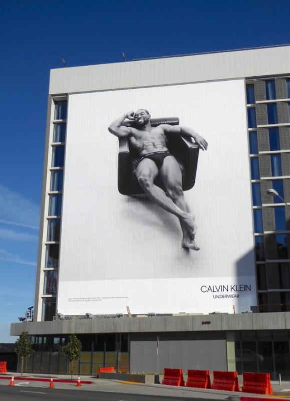 Calvin Klein Underwear Trevante Rhodes billboard