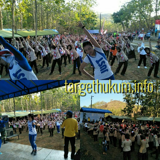 Meriahnya Kendeng Adventure Senam Pagi Bersama TNI - Polri Saka Wira Kartika Dan Masyarakat Durensawit
