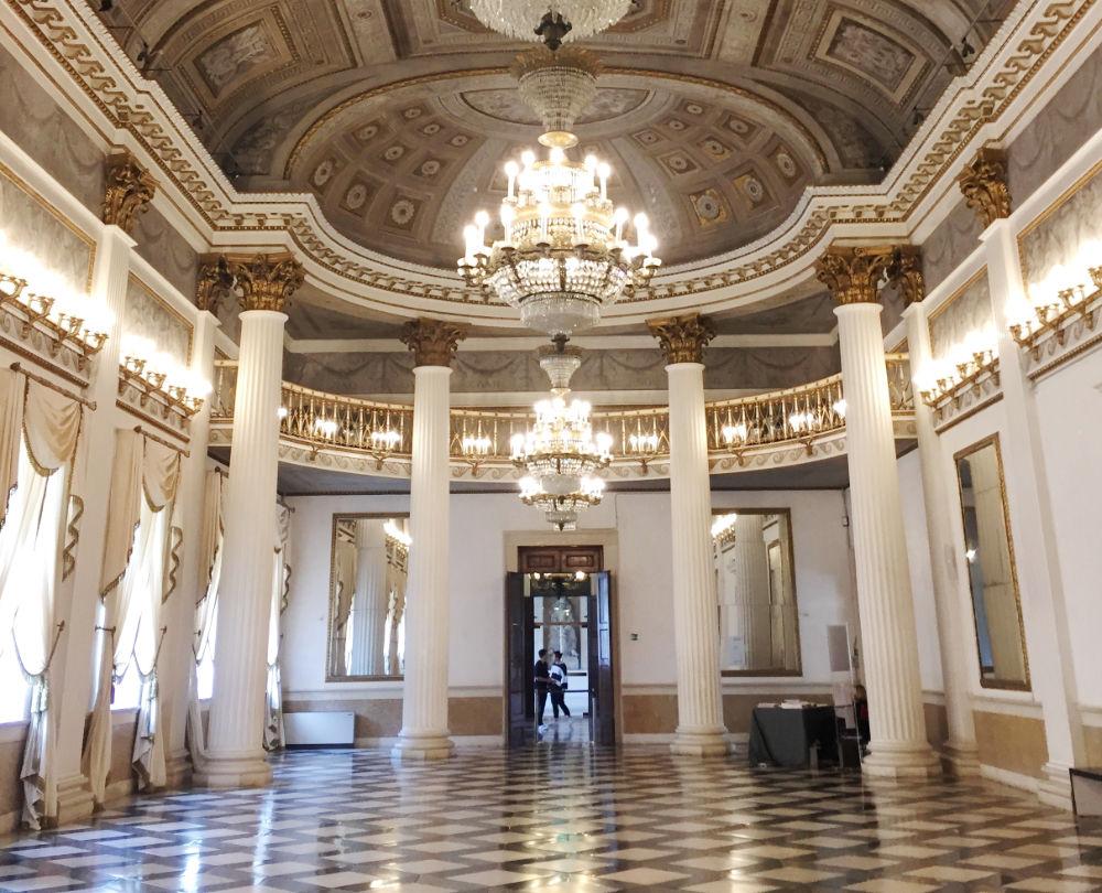 Venezia regale il museo correr viaggiolibera for Planimetrie del palazzo con sala da ballo