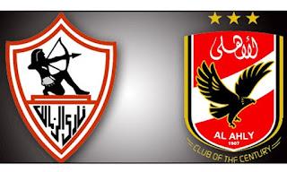 نتيجه مباراة الاهلي والزمالك  اليوم 30-3-2019 انتهت بالتعادل 0 - 0