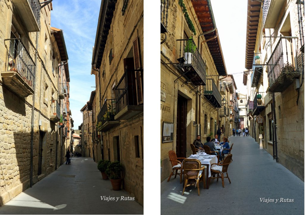 Calles de Laguardia, Álava