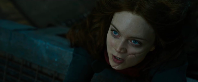 Hester Shaw mortal engines scar discussion