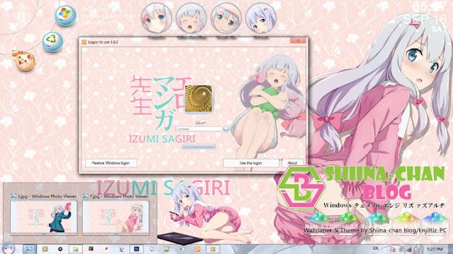 Eromanga-sensei - Izumi Sagiri V2 Theme Win 7 by Enji Riz Lazuardi