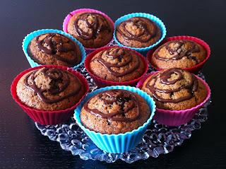 Nam-nam-muffins med krydder og sjokolade