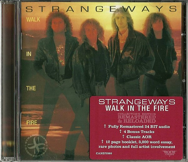 STRANGEWAYS - Walk In The Fire [Rock Candy remaster +4] full