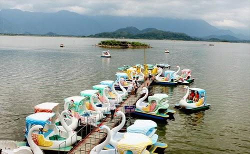 khu du lịch hồ núi cốc thái nguyên