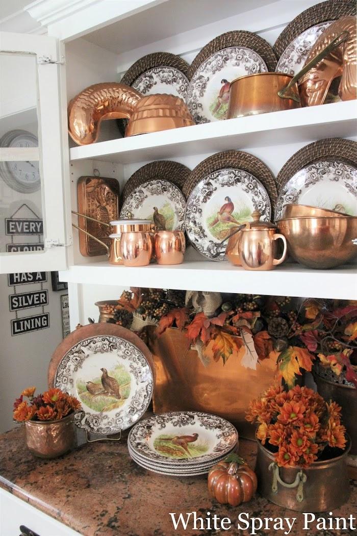 Stunning Thanksgiving Vignettes Day 4