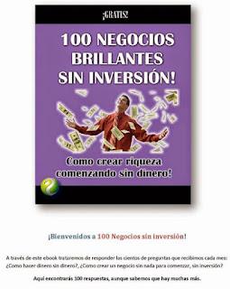 """""""100 Negocios sin Inversion"""""""