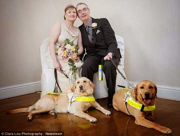 Seeing Eye Dogs Are The Only