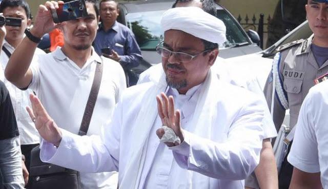 Habib Rizieq Dikabarkan Pulang, Polisi Siap Tunggu di Soetta