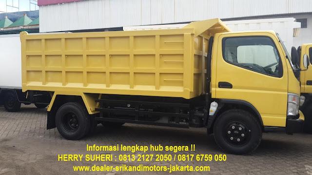 kredit dp kecil mitsubishi colt diesel dump truck 2020
