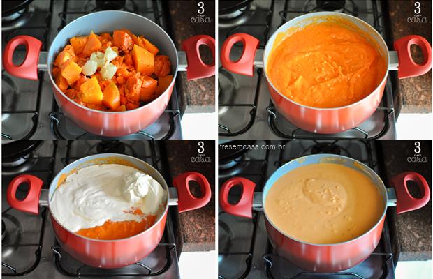 sopa de abóbora como fazer