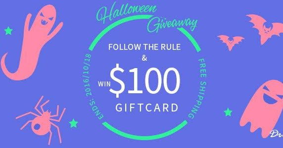 Giveaway with Dresslily Halloween