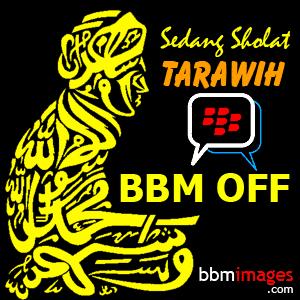 gambar dp bbm sholat tarawih