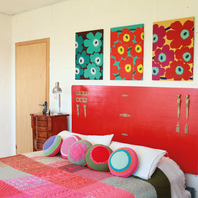 instagram placas otono3 - Tejidos que dan calor y color al dormitorio