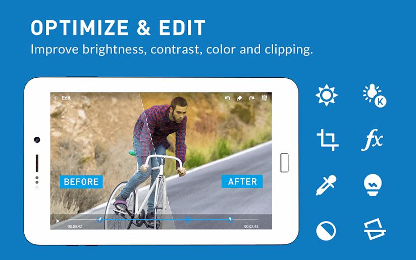 تطبيق Camera MX للتصوير والتعديل على الصور