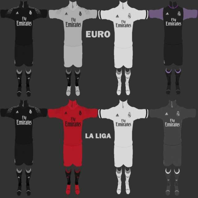 PES 2013 Real Madrid Fantasy Kit Season 2016/17