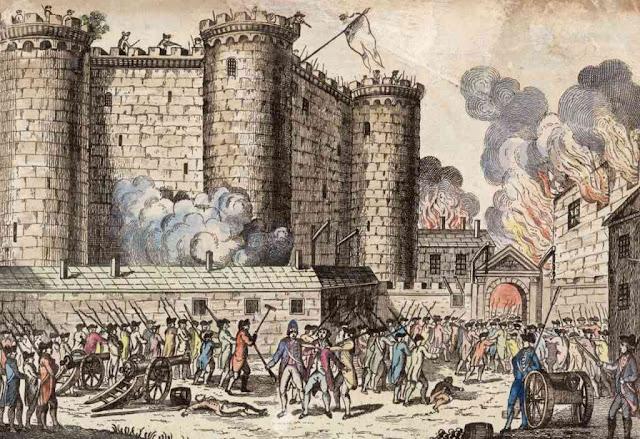 Toma de la Bastilla y revolucion burguesa