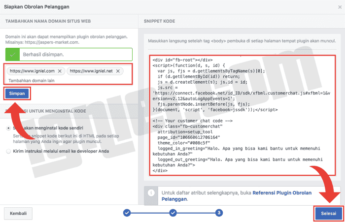 Cara Membuat Tombol Live Chat ke Facebook Messenger di Blogger dan WordPress Cara Buat Blog- Membuat Tombol Live Chat ke Facebook Messenger di Blogger dan WordPress