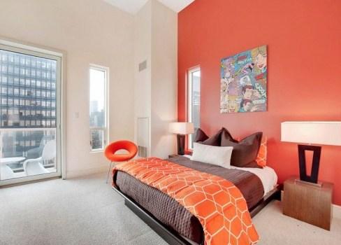 cat dinding kamar 2 warna yang menenangkan