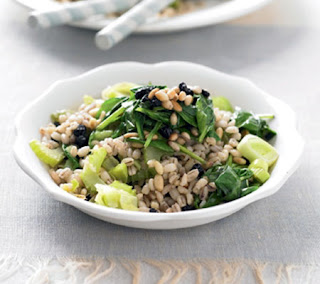 Vegetable and Pearl Barley Pilaf Recipe