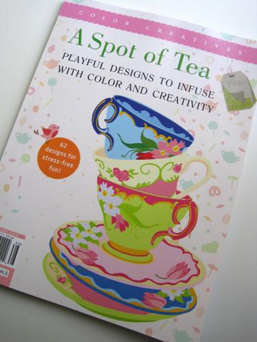 Coloring Book Review A Spot Of Tea
