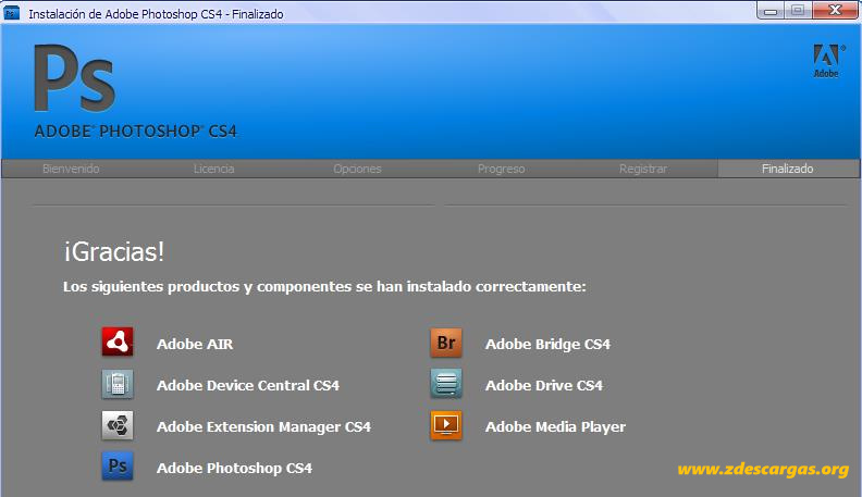 Adobe Photoshop CS4 Full Español