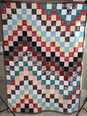 Memory Quilt 1 by Jacquline