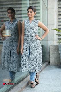 Telugu Television Actress Karuna Latest Pos In Denium Jeans  0089.JPG