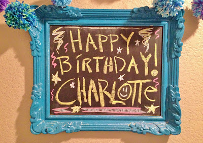 Planet Clare Happy Birthday Charlotte