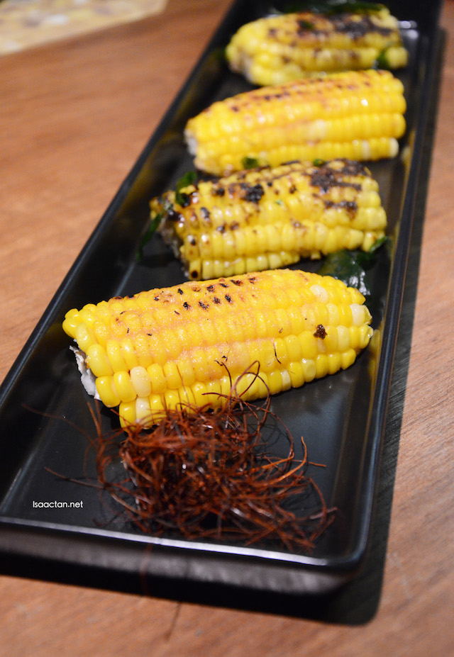 Thai Spice & Miso-Butter Fresh Corn Wedges - RM10.50