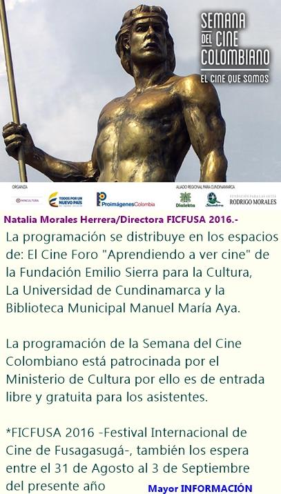 Semana del Cine Colombiano en Fusagasugá