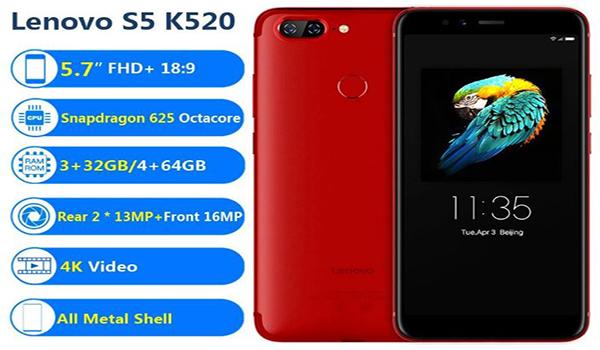 جوال لينوفو Lenovo S5 K520