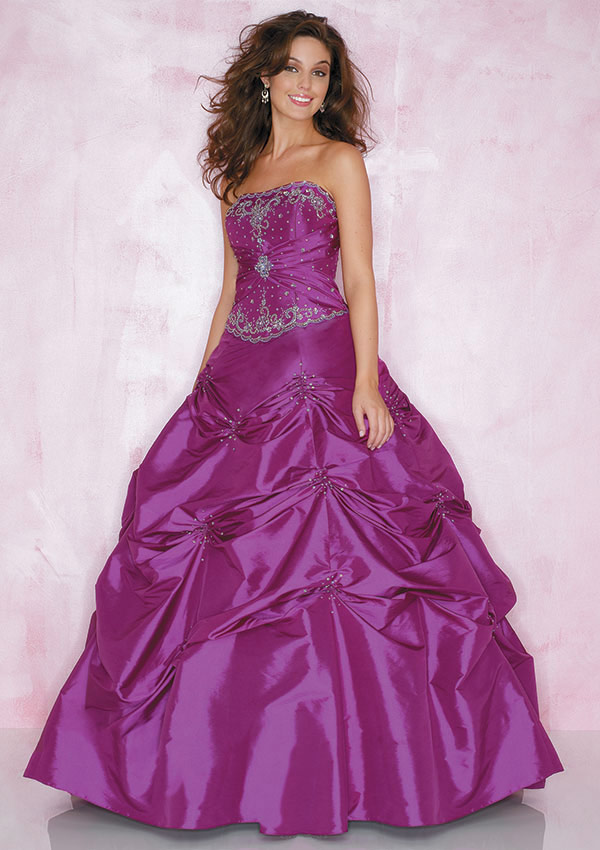 Cute Purple Wedding Dress New Look