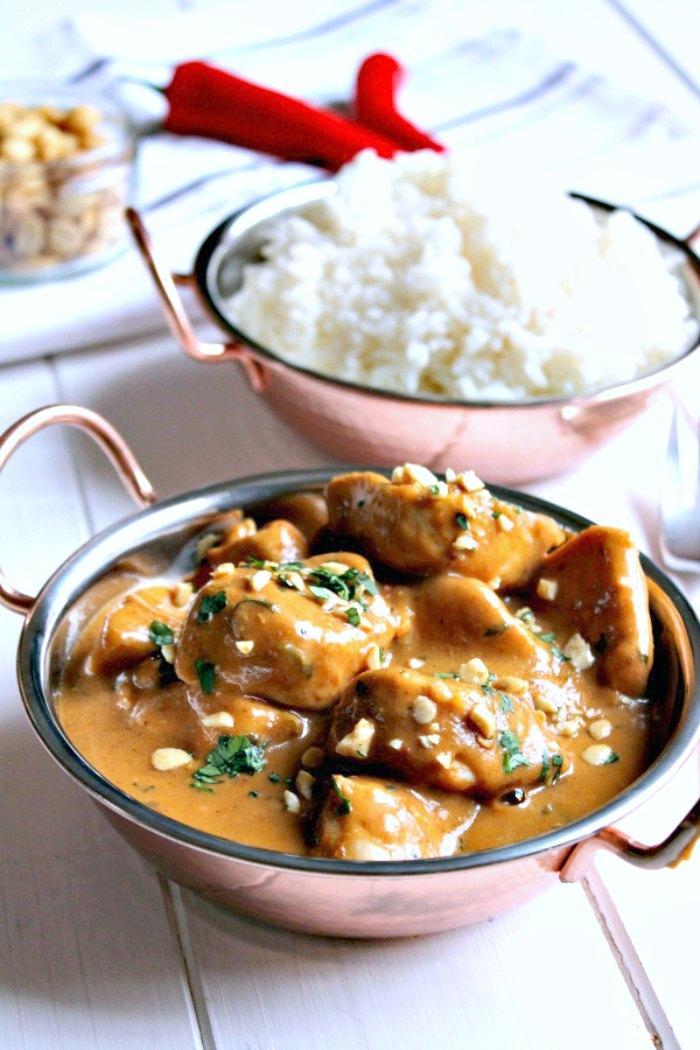 Peanutty Chicken Curry