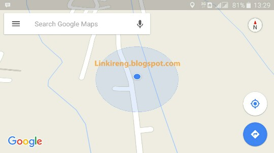 Update location on Google Maps