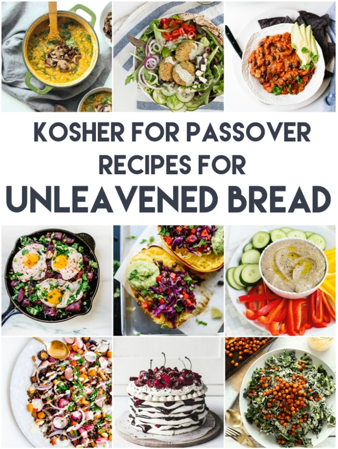 Kosher for Passover Recipes for the Week of Unleavened Bread   Land of Honey