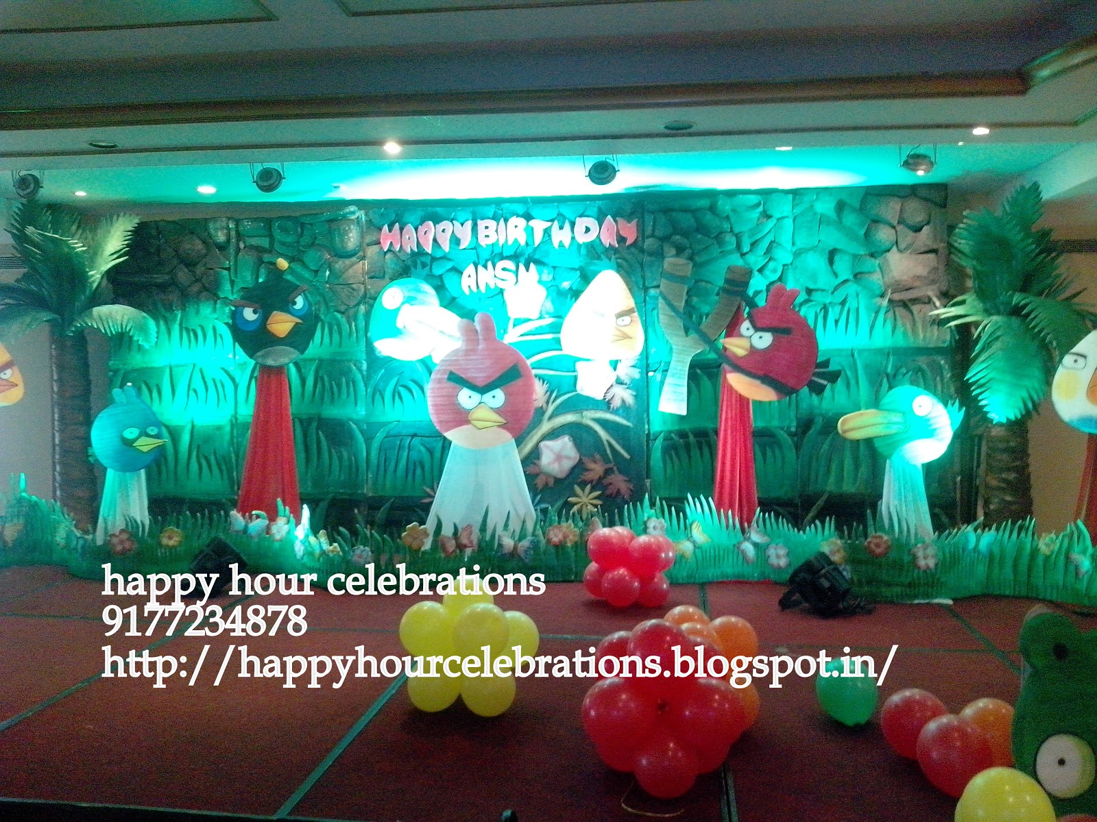 Birthday party decorations Boys Girls Themes in hyderabad