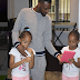 Check out 9ice's twin girls (photo)