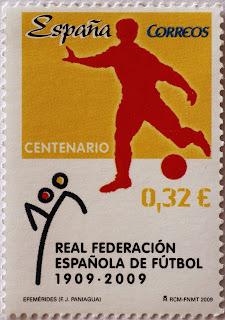 CENTENARIO REAL FEDERACIÓN ESPAÑOLA DE FÚTBOL 1909-2009