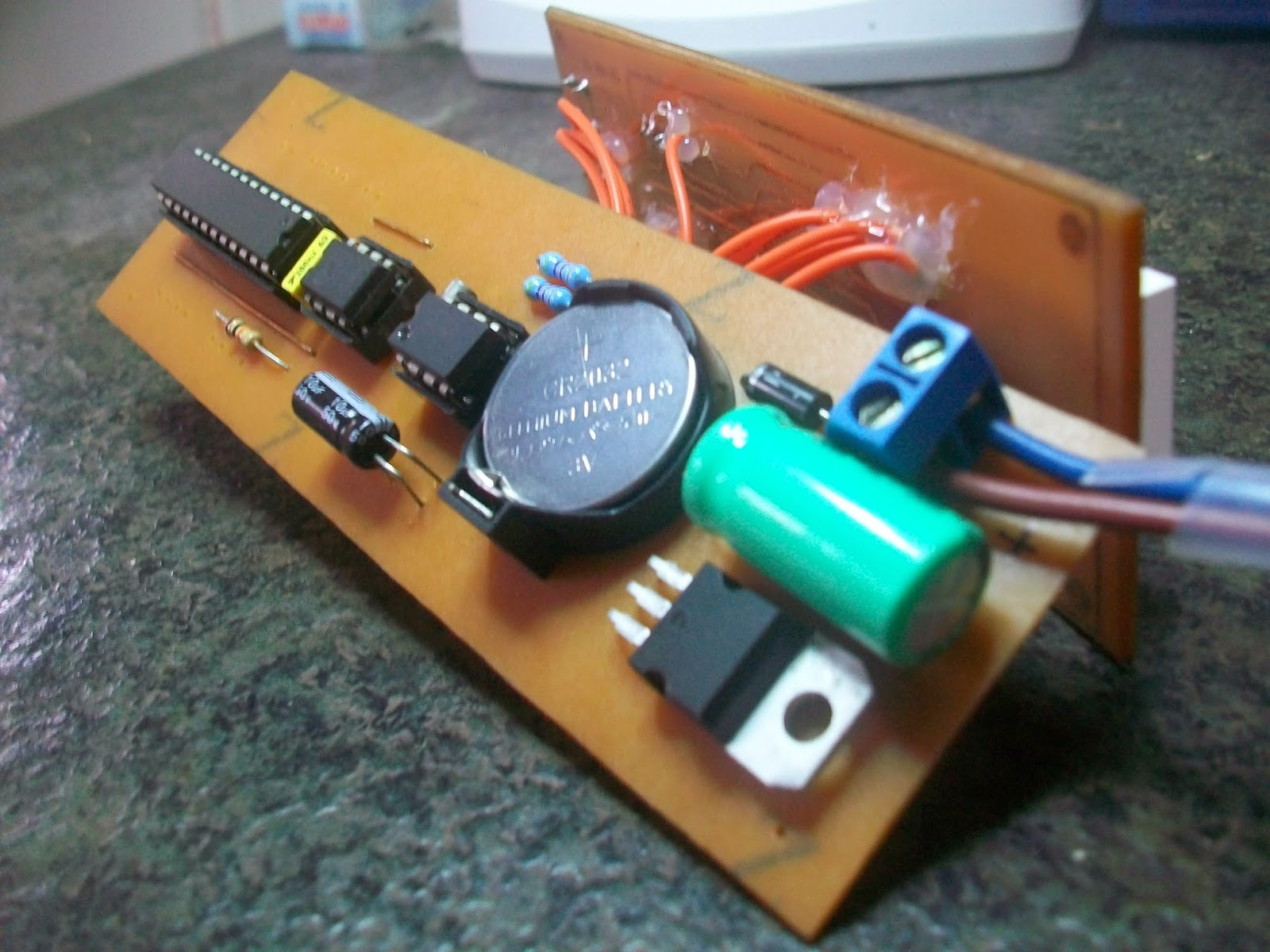 Temperature Detector Circuit Electronic Projects Circuits