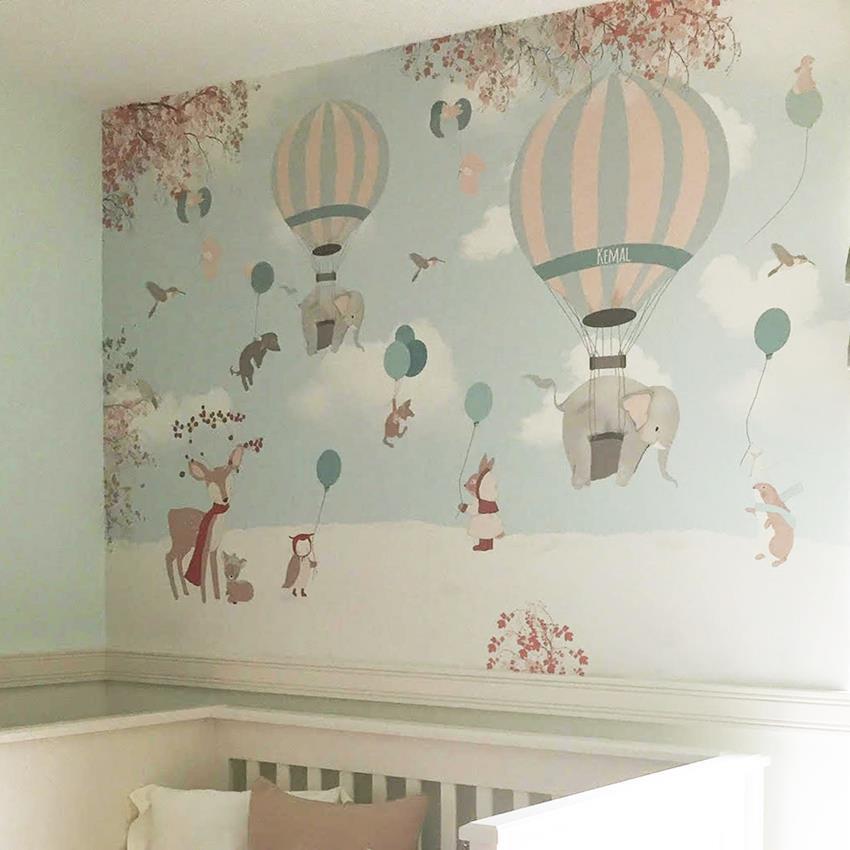 Little hands - Habitacion bebe papel pintado ...