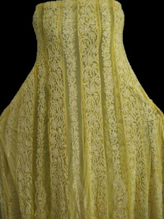 Yellow Lucknowi Anarkali