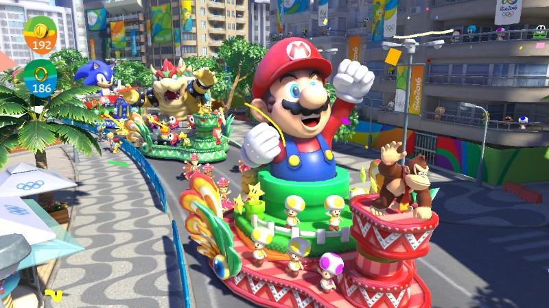 7dbe1206a Reino do Cogumelo  Mario   Sonic at the Rio 2016 Olympic Games é o ...