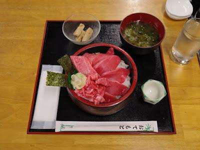 富山駅前 さかな屋 撰鮮おらっちゃマグロ丼1,380円