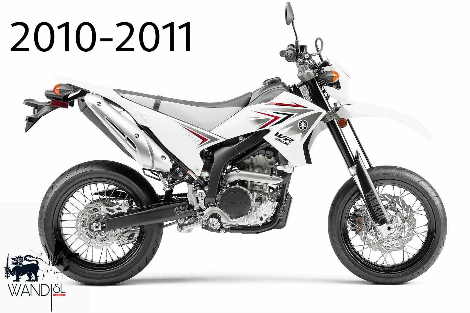 Supermotard Yamaha Wr250x