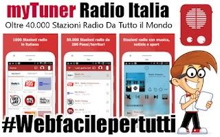 myTuner Radio Italia - Internet Radio FM Gratis | App Con Oltre 40.000 Stazioni  Radio Da Tutto il Mondo e 100.000 Podcast