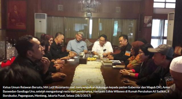 Adik Ani Yudhoyono Telah Restui Dukungan untuk Anies-Sandi