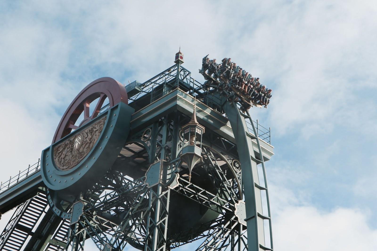 Image Baron 1898 European Theme Park Rollercoaster