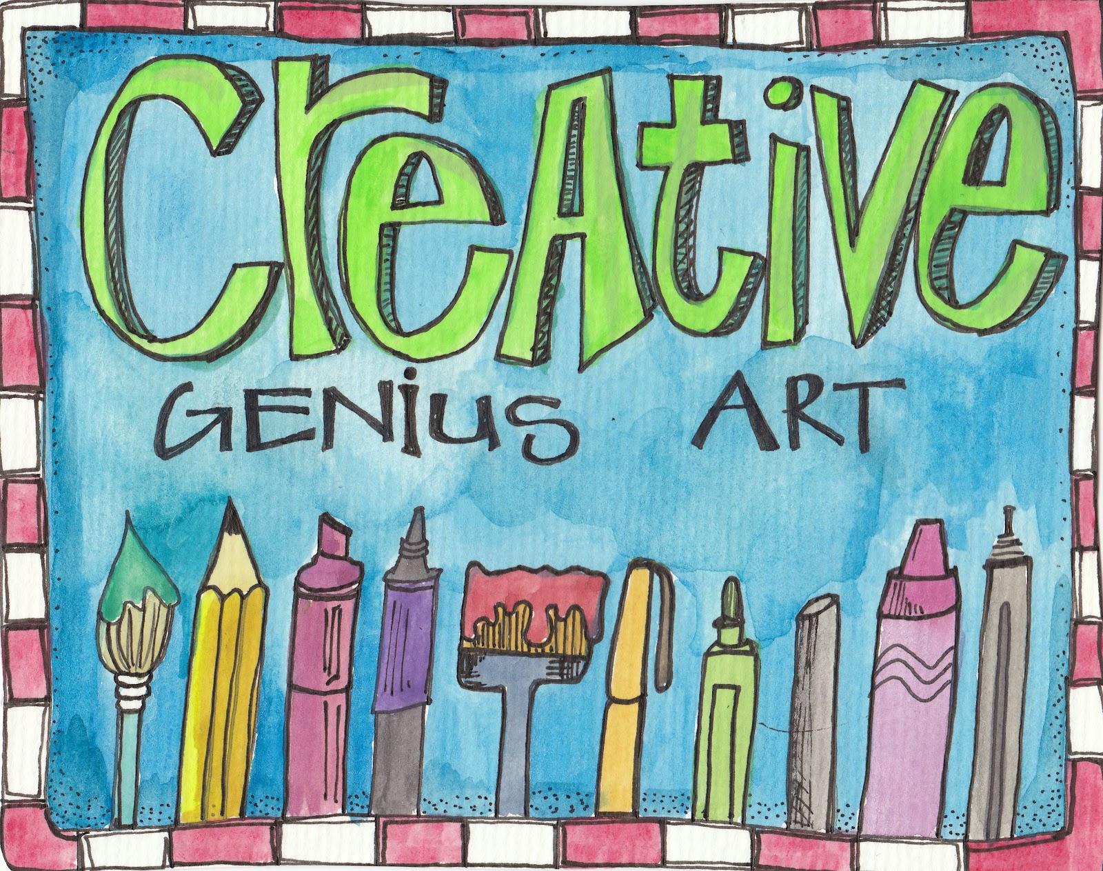 Creative Genius Art Illustrations